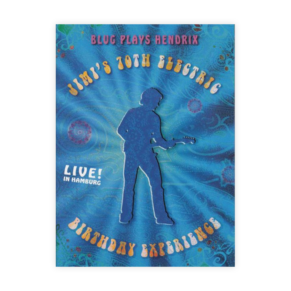 [DVD] Blug Plays Hendrix - Jimi's 70th Electric Birthday Experience